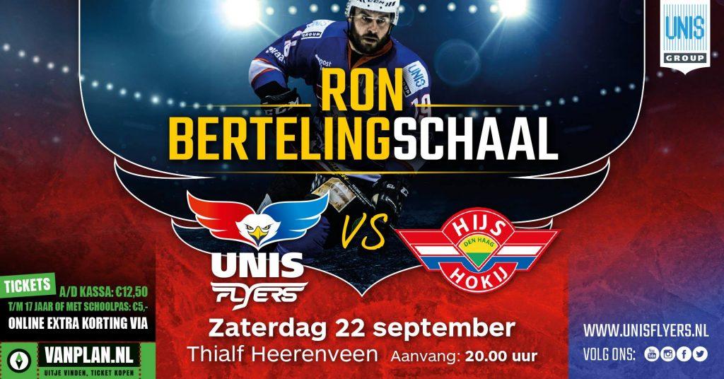 Zaterdag 22 september vind de twaalfde editie van de Ron Berteling Schaal plaats