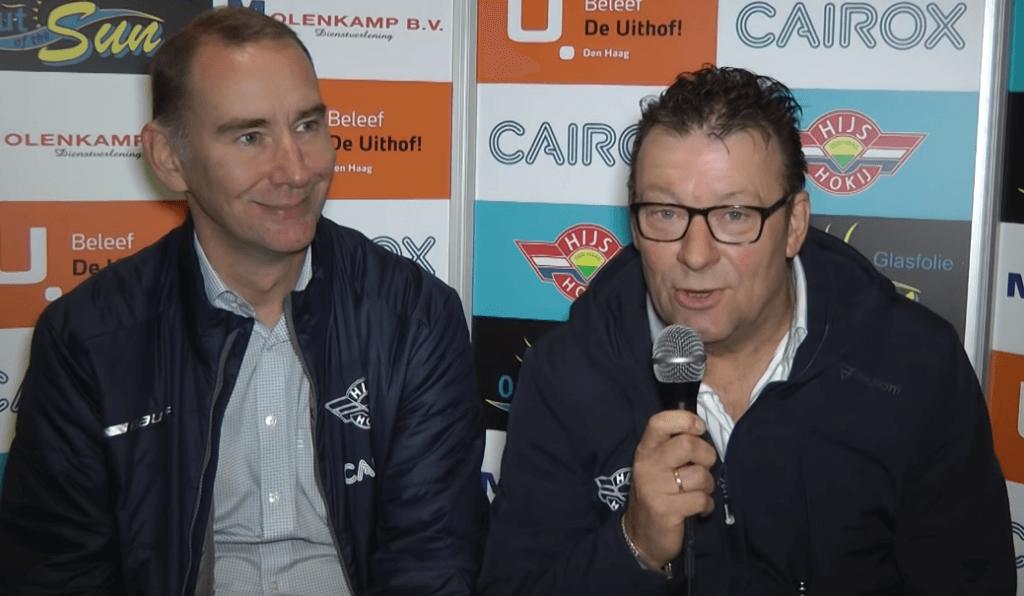 Interview na afloop van de beker wedstrijd | Cairox Hijs Hokij vs Zoetermeer Panters.