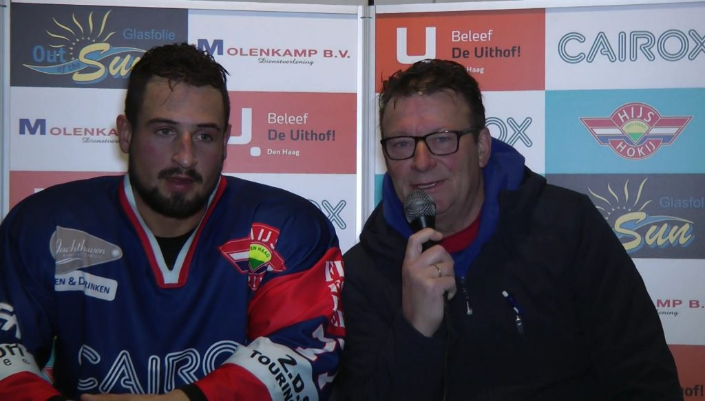 Interview Cairox Hijs Hokij vs Mechelen Golden Sharks