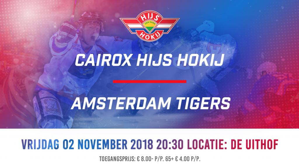 Cairox Hijs Hokij vs Amsterdam Tigers