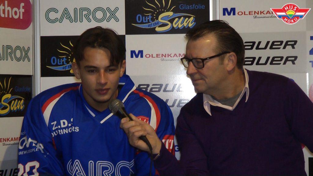 Interview   Dani van Schilt na de wedstrijd tegen HYC Herentals