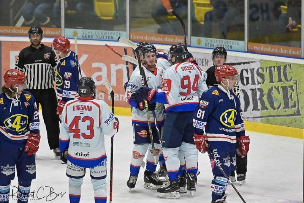 Fotoverslag: Select 4-U Nijmegen Devils vs Cairox Hijs Hokij