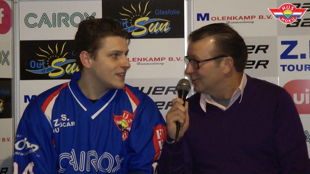 Interview   Stef Overweg na de wedstrijd tegen HYC Herentals