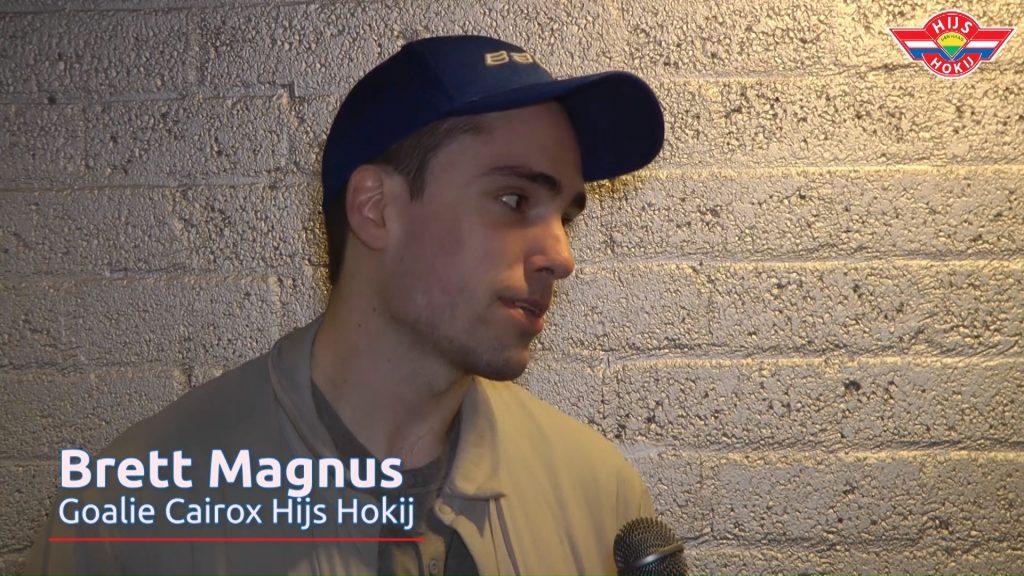 Interview | Brett Magnus na de overwinning tegen Chiefs Leuven