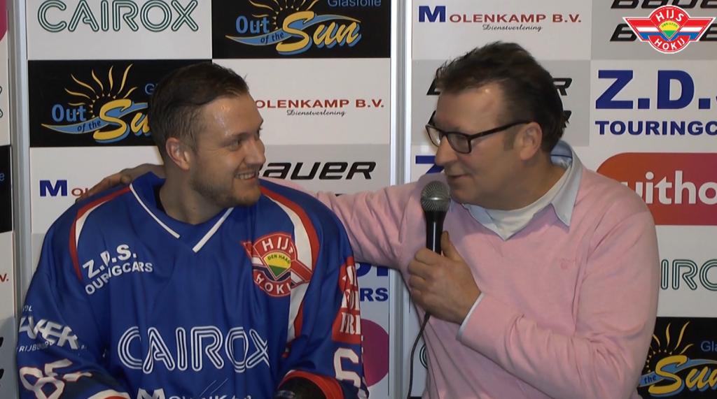 INTERVIEW | Maurice van der Schuit na de gewonnen wedstrijd tegen Microz Eaters
