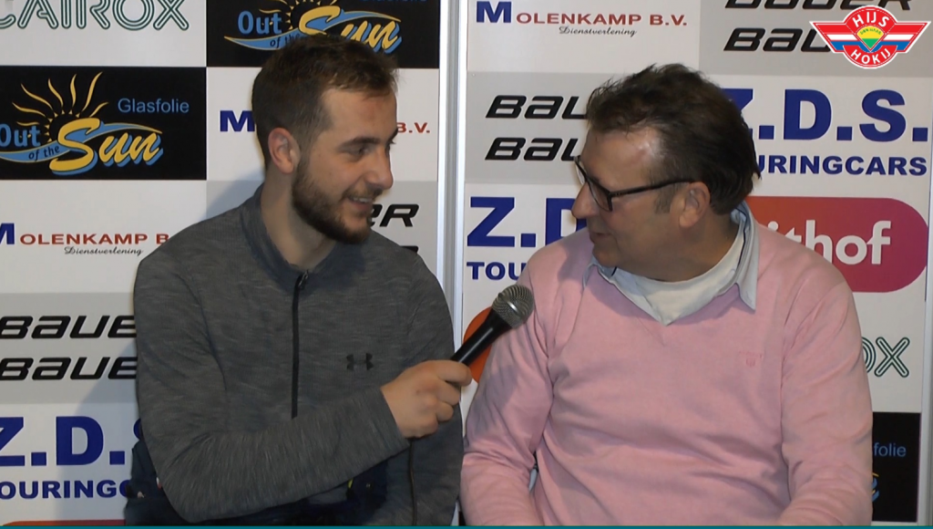 INTERVIEW | Peet Sollveld na de gewonnen wedstrijd tegen Microz Eaters