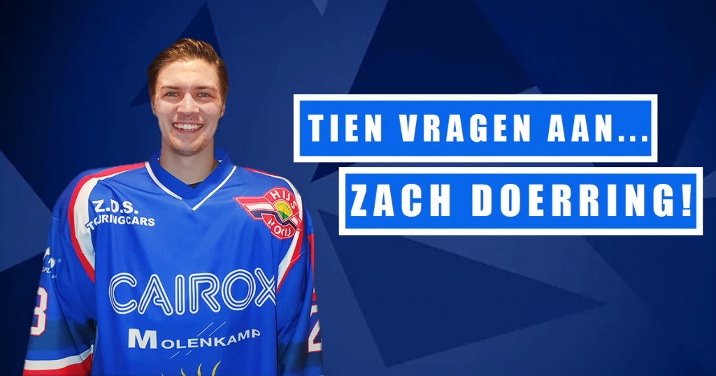 Tien vragen aan: Zach Doerring!