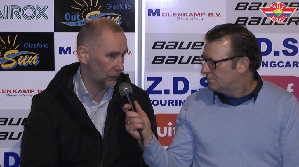 INTERVIEW | Chris Eimers na de kwartfinale wedstrijd tegen Microz Eaters